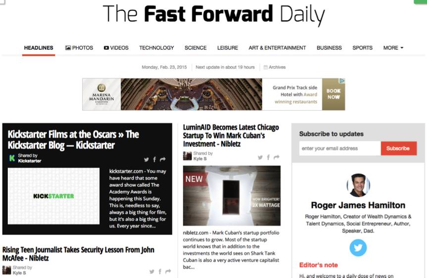 Fast Forward Daily accountants brisbane